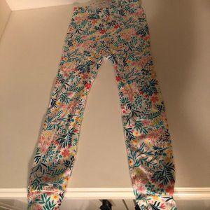 Baby Gap Toddler Girls Floral PJ Pants Size 4T